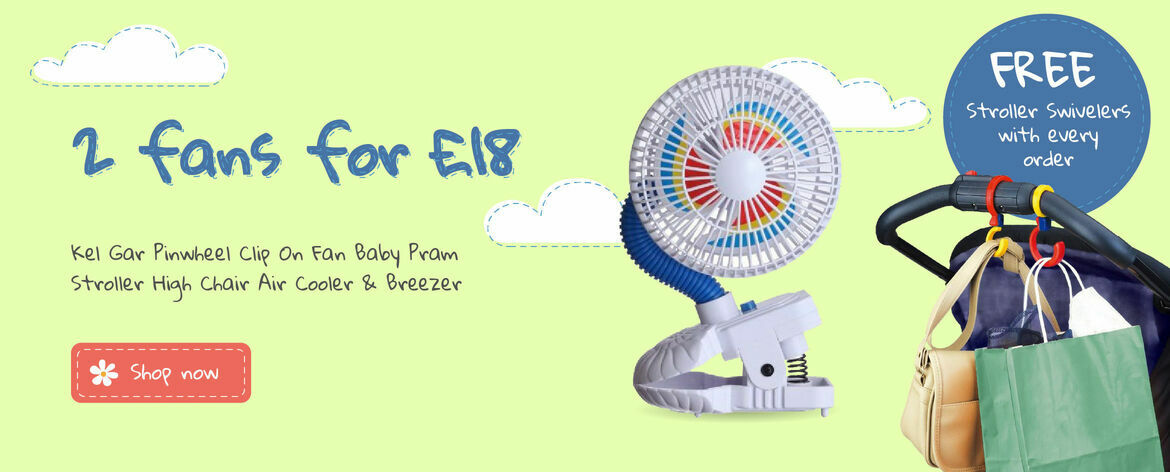 Buy 2 Fans for £18 special offer