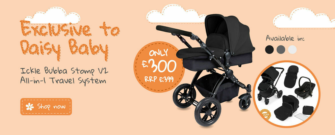 Ickle Bubba 3-in-1 Travel System