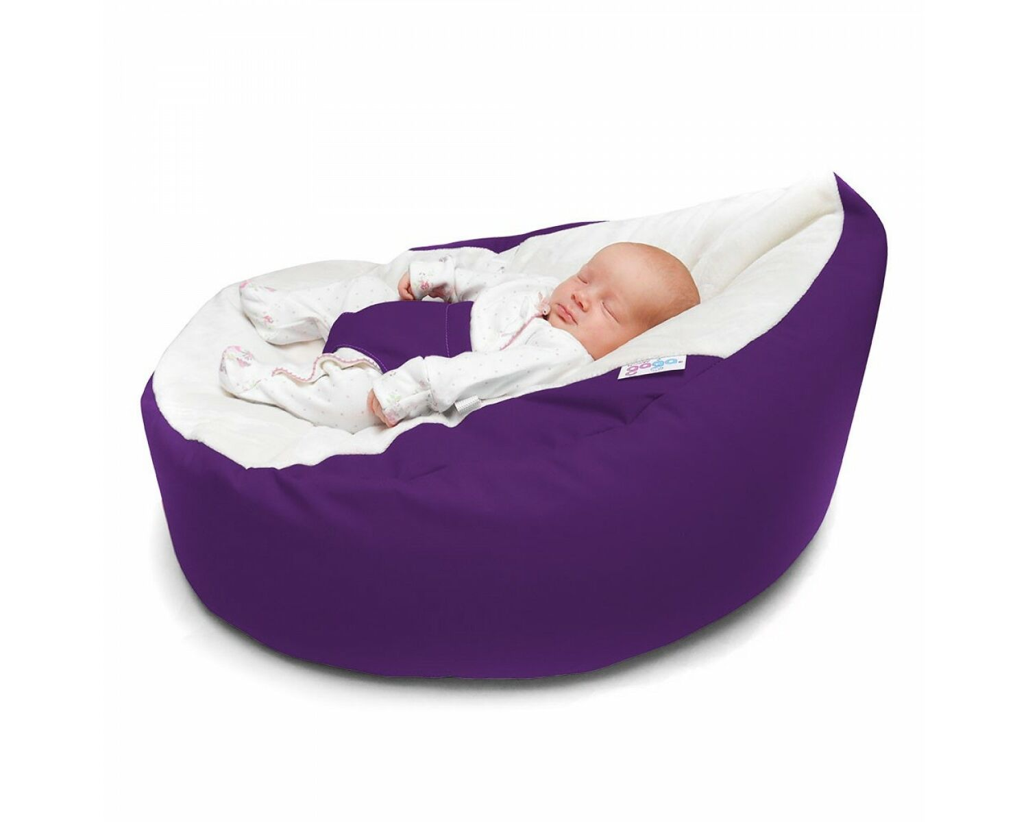 Phenomenal Gaga Vivid Purple Soft And Comfortable Baby Bean Bag Seat Gmtry Best Dining Table And Chair Ideas Images Gmtryco
