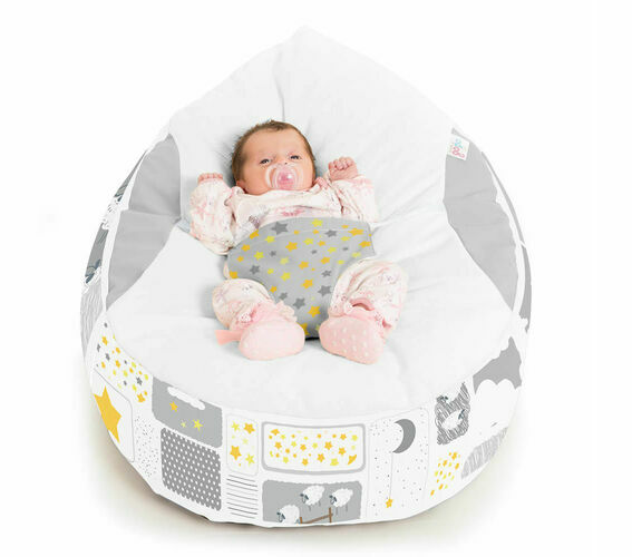 Pleasant Details About Gaga Cuddlesoft Pre Filled Baby Bean Bag Counting Sheep Pabps2019 Chair Design Images Pabps2019Com