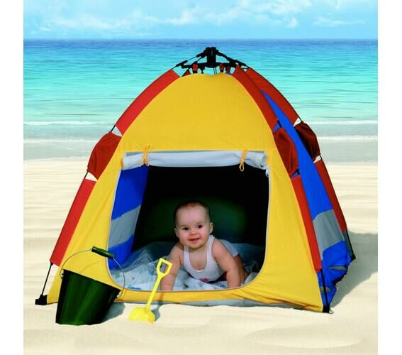 free shipping 4aaa4 49a5f Details about Kwik Cabana Uv Baby Beach Tent 50+ SPF Lightweight Durable.  Babies / Toddler