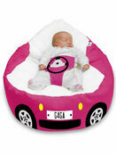 Gaga Luxury Cuddlesoft Racing Car Baby Bean Bag - Choose your favourite colour additional 4