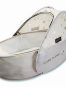 Koo-Di Sun & Sleep Pop-Up Travel Bassinet in Star Print Design additional 1