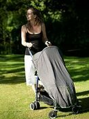 Pack-It Sun & Sleep Shade Cover for Pushchairs and Strollers Charcoal additional 7