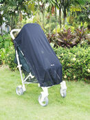 Pack-It Sun & Sleep Shade Cover for Pushchairs and Strollers Charcoal additional 5