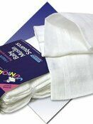 Junior Joy 12 Pack of White Cotton Muslin Squares additional 3