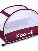 Koo-Di Pop-Up Bubble Travel Cot - Aubergine additional 3