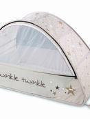 Sun & Sleep Pop-Up Bubble Travel Cot in White with Stars additional 6