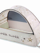 Sun & Sleep Pop-Up Bubble Travel Cot in White with Stars additional 2