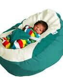 GaGa Jade Luxury Cuddle Soft Baby Bean Bag With Adjustable Harness additional 1
