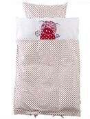 Franck & Fischer Organic Cotton Quality Baby Childs Bed Linen Set Leona Pig additional 2