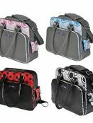 Dooky Changing Bag with Pull & Wipe Black Circles additional 3