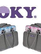 Dooky Changing Bag with Pull & Wipe Black Circles additional 4