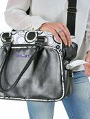 Dooky Changing Bag with Pull & Wipe Black Circles additional 5