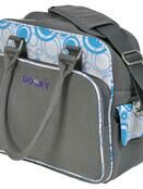 Dooky Changing Bag with Pull & Wipe Aqua Circles additional 1