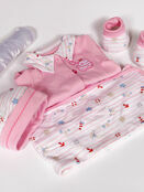 Palm and Pond New born Baby Gift Set Seaside Pink additional 1