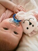 Sleepytot Dummy Holding Comforter - Pink Bunny additional 5