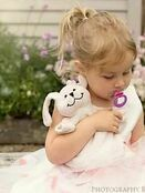 Sleepytot Dummy Holding Comforter - Pink Bunny additional 6