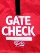 J L Childress Gate Check Bag for Baby Car Seats - Red additional 3