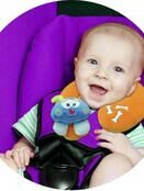Happy Mummy Fun and Funky Baby Neck Support - Lion additional 2