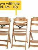 Safety 1st Timba Wooden Highchair Choose your style additional 4