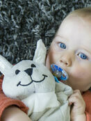 Sleepytot Dummy Holding Comforter - Grey Bunny additional 2