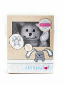 Sleepytot Dummy Holding Comforter - Grey Bunny additional 11