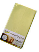 Purflo Fitted Organic Cotton Cotbed Sheet 140x70 - Variety of Colours additional 2