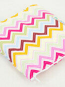 Palm and Pond Nursing Cover Extra Large Pastel Zigzag additional 2