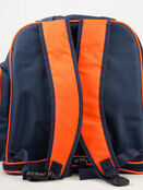 Palm and Pond Changing Back Pack Navy with Orange Trim additional 4