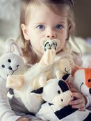 Sleepytot Dummy Holding Comforter - Cream Lamb additional 4
