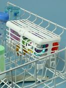 2-in-1 Infant and Toddler Dishwasher Basket Combo additional 2