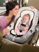 Summer Infant Snuzzler Baby Support for Car Seats - Ivory additional 2
