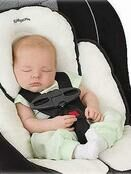 Summer Infant Snuzzler Baby Support for Car Seats - Ivory additional 4
