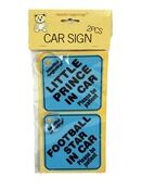 Baby On Board Sign - Blue Assorted additional 2
