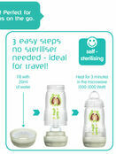 MAM Easy Active Baby Bottle 270ml 2 Pack additional 6