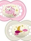 MAM Night Soother 6+ months 2 pack additional 2