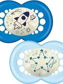 MAM Night Soother 6+ months 2 pack additional 1
