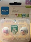 MAM Air Soother 6+ mths 2 Pack additional 2