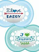 MAM Style Soother 6+ mths 2 Pack - Choose your Style additional 2