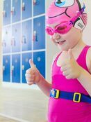 Kids Character Swimming Cap 6-14 years - Choose your design additional 6