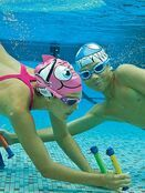 Kids Character Swimming Cap 6-14 years - Choose your design additional 5