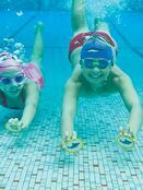 Kids Character Swimming Cap 6-14 years - Choose your design additional 3