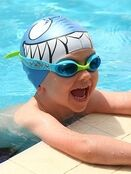 Kids Character Swimming Cap 6-14 years - Choose your design additional 8