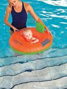 Zoggs Swim Trainer Seat 3-12 mths - choose design additional 7