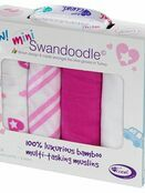 Cuski Mini Swandoodles Soft Bamboo Muslins 4 Pack additional 7