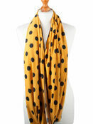 Palm and Pond Nursing Scarf - Yellow with Black Spots additional 2