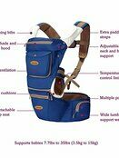 Clevamama Ergonomic Baby & Hip Carrier additional 7