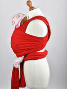Palm and Pond Stretchy Cotton Baby Wrap Sling - Red additional 3