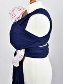 Palm and Pond Stretchy Cotton Baby Wrap Sling - Navy additional 11